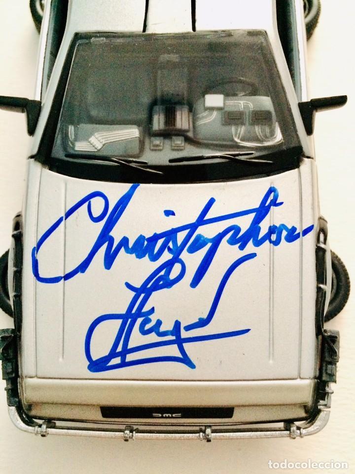 Cine: CRISTOPHER LLOYD ( REGRESO AL FUTURO ) - AUTOGRAFO EN COCHE - CON CERTIFICADO DE AUTENTICIDAD - Foto 4 - 193764823