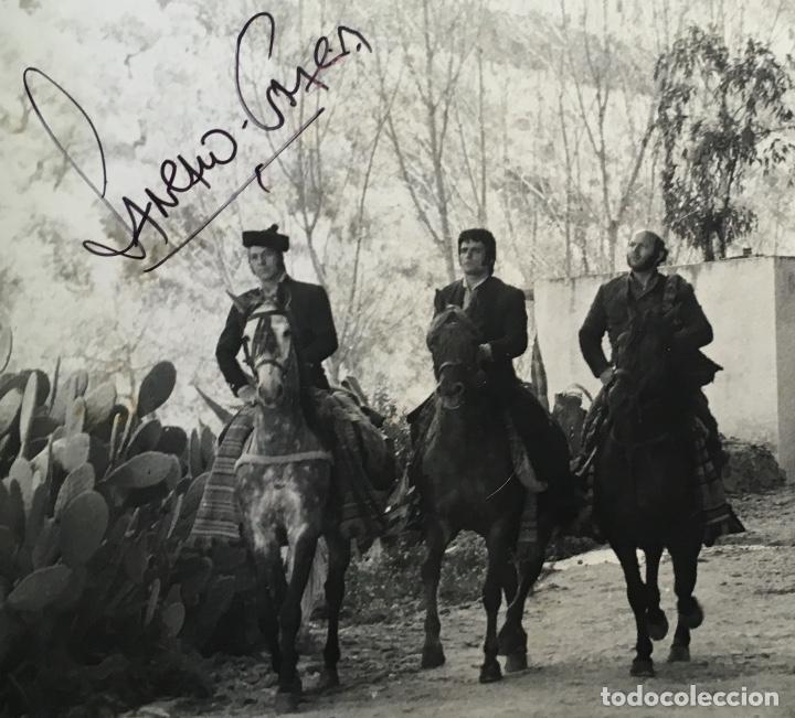 Cine: FOTOGRAFÍA CURRO JIMÉNEZ - FIRMA SANCHO GRACIA - GRAN FORMATO 30,5x24cm - ALGARROBO - EL ESTUDIANTE - Foto 2 - 193853171