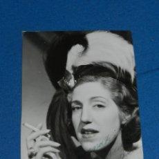 Cine: FOGRAFIA AUTOGRAFIA ORIGINAL POR MARY SAMPERE, 18X11,5 CM, POCAS SEÑALES DE USO. Lote 194312818