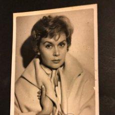 Cine: FOTO CON PUBLICIDAD ANA MARISCAL 14 X 8,5 CM. Lote 194743080