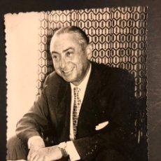 Cine: FOTO CON AUTÓGRAFO DE PEDRO PERICO CHICOTE 11,5 X 8 CM. Lote 194743500