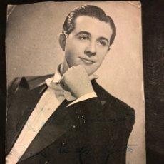 Cine: PROGRAMA DE TEATRO CON AUTÓGRAFO DE ANTÓN NAVARRO.LAS ZAPATILLAS VERDES 20 X 12,5 CM. Lote 194964170