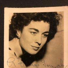 Cine: FOTO CIFESA CON AUTÓGRAFO DE AURORA BAUTISTA 12 X 9 CM. Lote 194977831