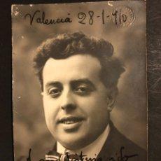 Cine: FOTO CON AUTÓGRAFO DE GASPAR RODRIGO 14 X 8,5 CM. Lote 195439238