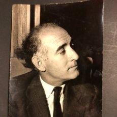 Cine: FOTO CON AUTÓGRAFO DEL ESCRITOR JOSÉ MARÍA GIRONELLA.DEDICATORIA Y FIRMA.FOTO HENECE 17 X 10,5 CM. Lote 195439350