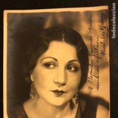 Cine: FOTO CON AUTÓGRAFO DE LA ACTRIZ MATILDE RIVERA DE ROSAS 18 X 13 CM. Lote 195522228
