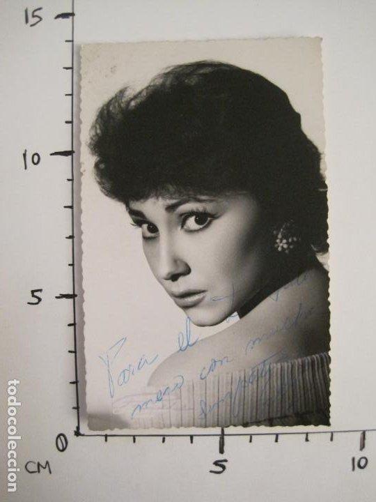 Cine: VICKY LAGO-AUTOGRAFO-FOTOGRAFIA FIRMADA-VER FOTOS-(V-19.314) - Foto 6 - 196633332