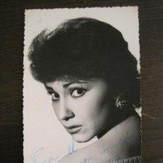 Cine: VICKY LAGO-AUTOGRAFO-FOTOGRAFIA FIRMADA-VER FOTOS-(V-19.314). Lote 196633332