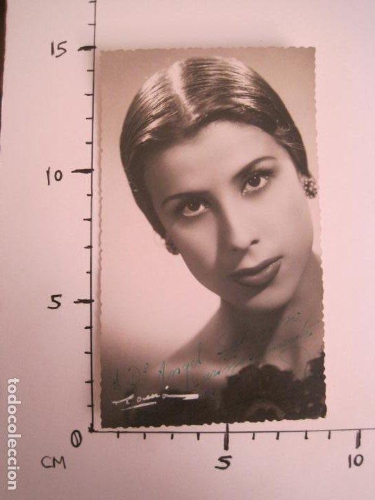 Cine: CARMEN-AUTOGRAFO-FOTOGRAFIA FIRMADA-VER FOTOS-(V-19.319) - Foto 5 - 196635428