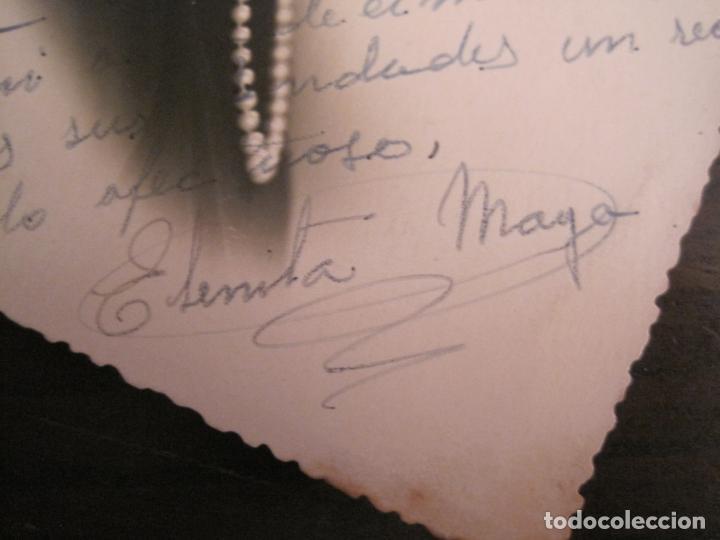 Cine: ELENITA MAYO-AUTOGRAFO-FOTOGRAFIA FIRMADA-VER FOTOS-(V-19.320) - Foto 2 - 196635506