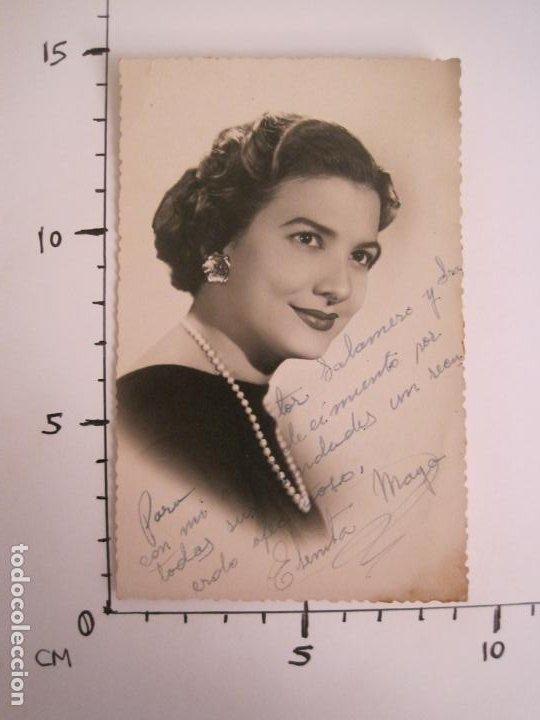Cine: ELENITA MAYO-AUTOGRAFO-FOTOGRAFIA FIRMADA-VER FOTOS-(V-19.320) - Foto 4 - 196635506