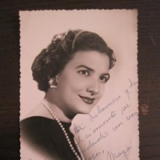 Cine: ELENITA MAYO-AUTOGRAFO-FOTOGRAFIA FIRMADA-VER FOTOS-(V-19.320). Lote 196635506