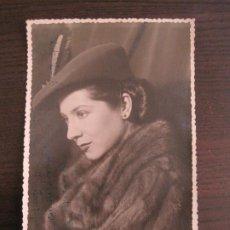 Cine: ELOISA NORIEGA-AUTOGRAFO-FOTOGRAFIA FIRMADA-VER FOTOS-(V-19.321). Lote 196636162