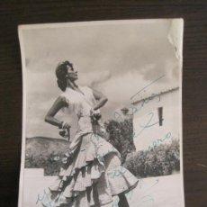 Cine: ??-AUTOGRAFO-FOTOGRAFIA FIRMADA-VER FOTOS-(V-19.322). Lote 196636368