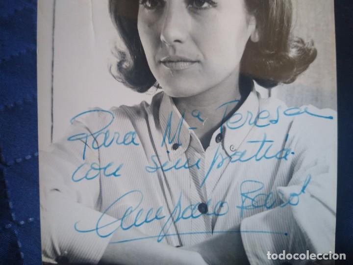Cine: Fotografía de la actriz Amparo Baro con autógrafo original. - Foto 2 - 198291280