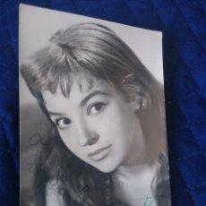 Cine: FOTOGRAFÍA DE LA ACTRIZ ELISA MONTES CON AUTÓGRAFO ORIGINAL. . Lote 198293575