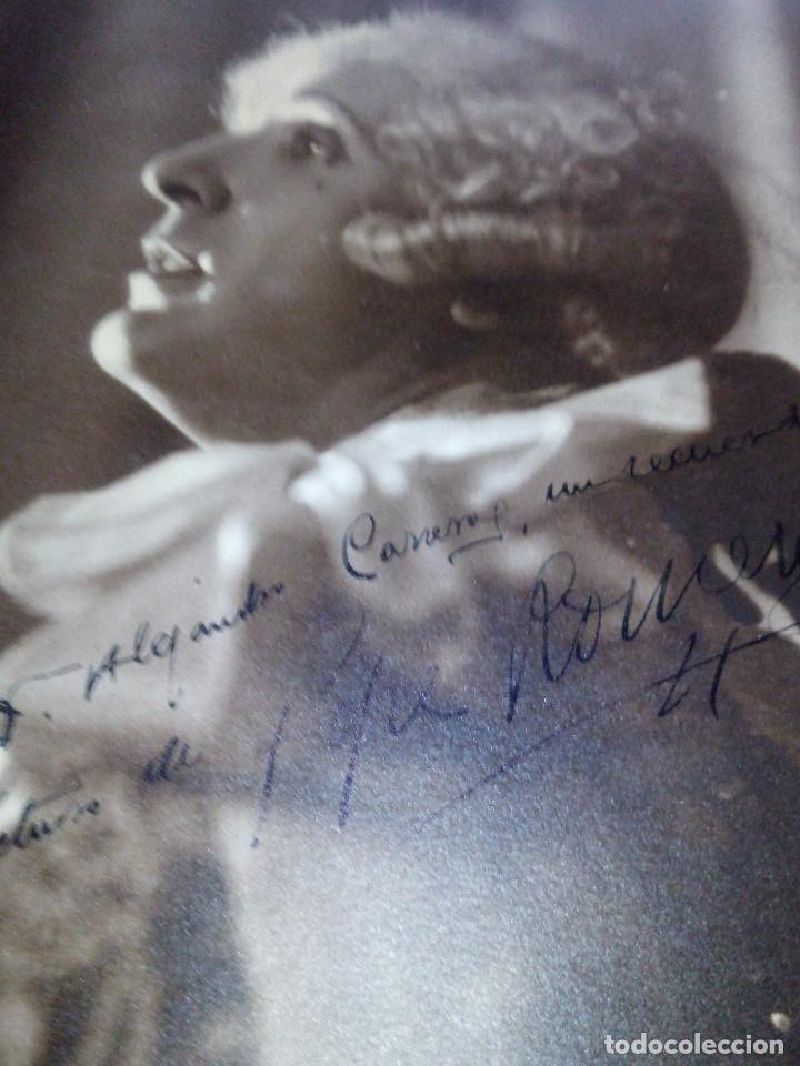 ~~~~ FOTOGRAFÍA ORIGINAL AUTOGRAFIADA DE PEPE ROMEU , BARCELONA 1932, MIDE 23 X 17,5 CM. ~~~~ (Cine - Autógrafos)