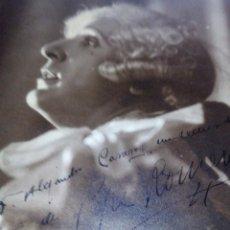 Cinema: ~~~~ FOTOGRAFÍA ORIGINAL AUTOGRAFIADA DE PEPE ROMEU , BARCELONA 1932, MIDE 23 X 17,5 CM. ~~~~. Lote 203471645