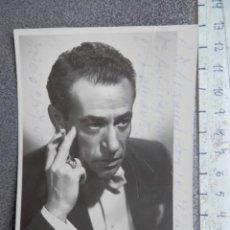 Cine: DEDICATORIA MANUSCRITA FOTOGRAFÍA ACTOR AÑO 1949 KARY MAYER. Lote 213046331