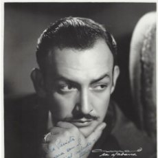 Cinema: AUTÓGRAFO Y DEDICATORIA DEL ACTOR JORGE NEGRETE A LA REVISTA ESPAÑOLA CÁMARA EN 1950. Lote 215077162