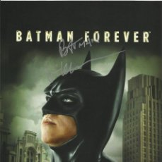 Cine: VAL KILMER. BATMAN FOR EVER. AUTÓGRAFO, FIRMA ORIGINAL. AUTOGRAPH. TOP GUN. WILLOW. EL SANTO.. Lote 217523587