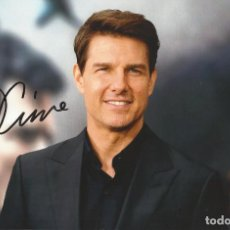 Cine: TOM CRUISE. AUTOGRAFO, AUTOGRAPH, FIRMA ORIGINAL. 19X29 CM. TOP GUN. RAIN MAN. MISSION: IMPOSSIBLE.. Lote 217524996