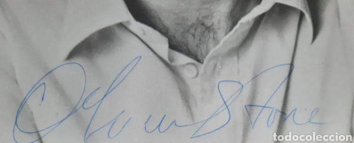 Cine: Autógrafo del director OLIVER STONE en fotografía original. ROGAMOS LEER CONDICIONES ANTES DE PUJAR. - Foto 2 - 219472887