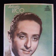 Cine: PUBLICIDAD DE CIFESA CON ANTONIO VICO. AÑOS 40.. Lote 219604723