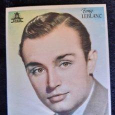 Cine: PUBLICIDAD DE CIFESA CON TONY LEBLANC. AÑOS 40.. Lote 219605743