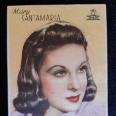 Cine: PUBLICIDAD DE CIFESA CON MARY SANTAMARIA. AÑOS 40.. Lote 219607588