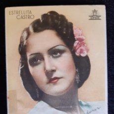 Cine: PUBLICIDAD DE CIFESA CON ESTRELLITA CASTRO. AÑOS 40.. Lote 219608843