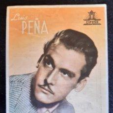 Cine: PUBLICIDAD DE CIFESA CON LUIS PEÑA. AÑOS 40.. Lote 219609447