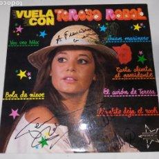 Cine: DISCO VUELA CON TERESA RABAL FIRMADO. Lote 230612670