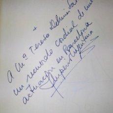 Cine: AUTÓGRAFO DE LA ACTRIZ IMPERIO ARGENTINA. TINTA SOBRE PAPEL. ESPAÑA. CIRCA 1950. Lote 231505175