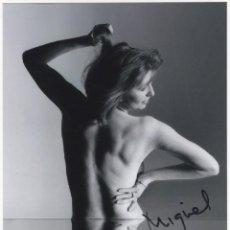 Cine: JANE ASHER AUTOGRAFO SIGNED PHOTO ORIGINAL AUTOGRAPH SEXY BEATLES PAUL MCCARTNEY FOTO FIRMADA. Lote 234700950