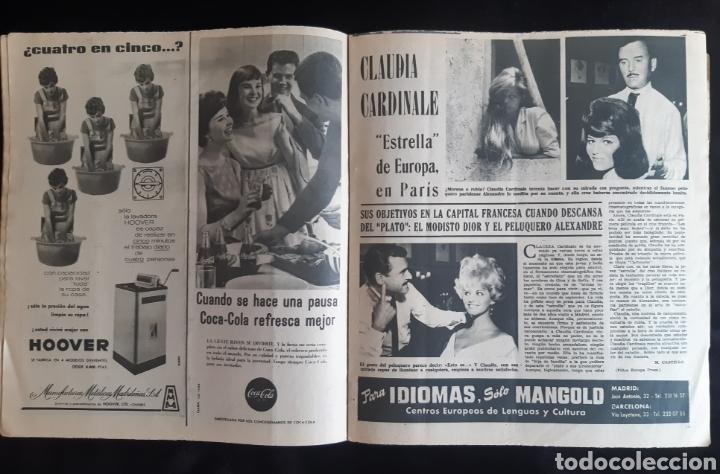 Cine: Autógrafo la actriz CLAUDIA CARDINALE A MANO. 1961. LEER LAS CONDICIONES ANTES DE PUJAR. - Foto 2 - 240605900