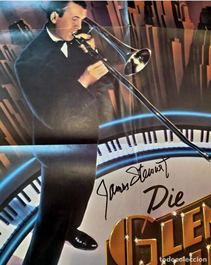 "Cine: James Stewart autógrafo-póster ""glenn miller Story"" 80x60 cm AUTOGRAFO CARTEL FIRMADO A MANO - Foto 2 - 241863125"