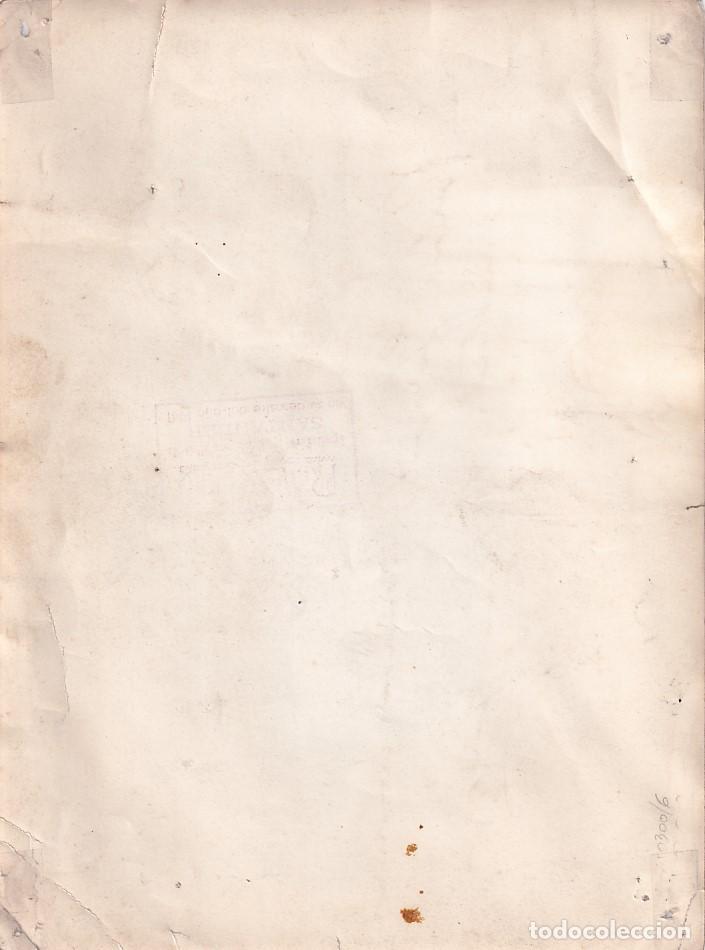 Cine: Fotografía original 24,50 x 18 cm con autógrafo o firma de la actriz y bailarina Celia Gamez. - Foto 2 - 243450750