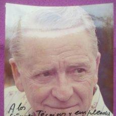 Cinéma: FOTO FOTOGRAFIA ACTOR PACO MARTINEZ SORIA CON AUTOGRAFO 1977 F-AU6. Lote 248742045