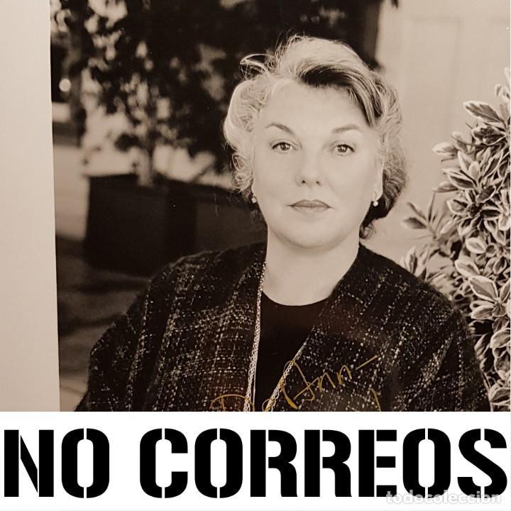 Cine: TYNE DALY - AUTOGRAFO - FIRMA - FIRMADO - AUTOGRAFIADO - LA JUEZ AMY - COLOMBO - NO USO CORREOS - Foto 4 - 253323250