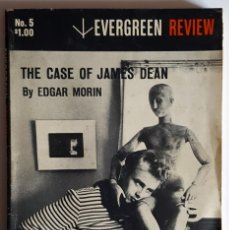 Cine: THE CASE OF JAMES DEAN. EVERGREEN REVIEW MAGAZINE, SUMMER 1958. BELONGED TO NICHOLAS RAY.. Lote 257625935