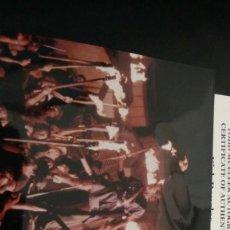 Cinema: AUTOGRAFO KIRK DOUGLAS EN ESPARTACO HOLLYWOOD CON CERTIFICADO. Lote 265124789