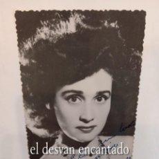 Cine: CELIA GÁMEZ. FOTO CON DEDICATORIA ORIGINAL 14 X 9 CTMS. Lote 267453404