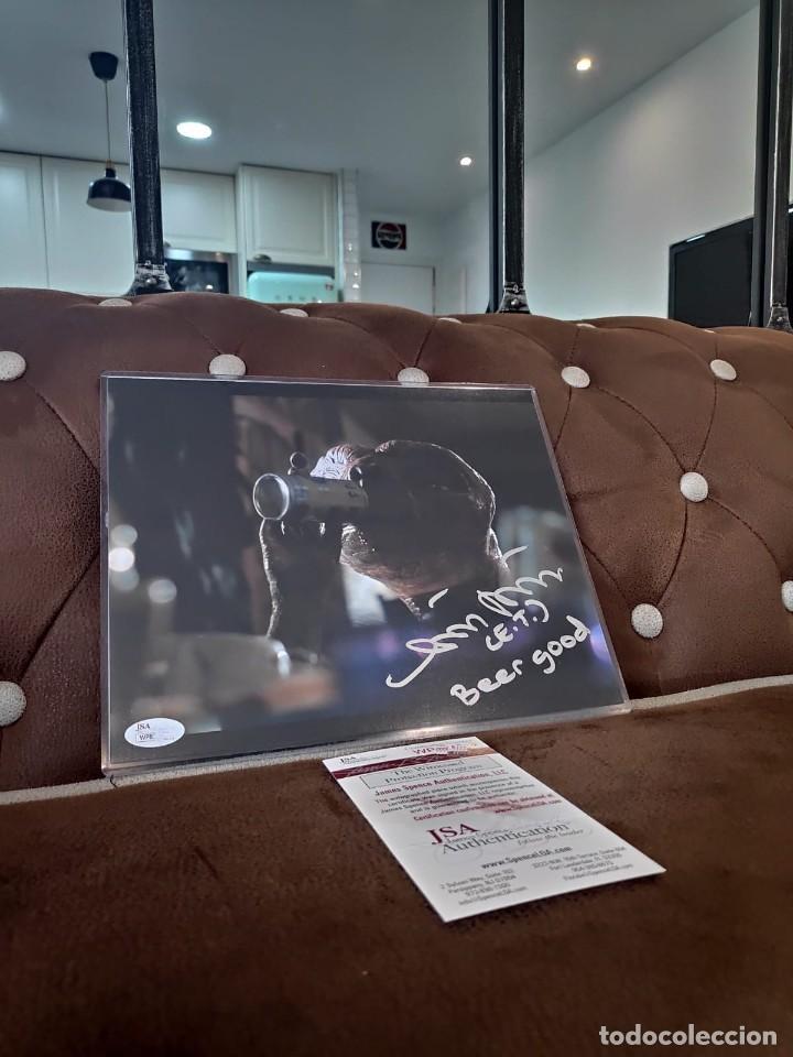 MATTHEW DE MERITT FIRMADO 8 X 10 FOTO E.T. ET DEMERITT TERRESTRE CERVEZA BUENA JSA (Cine - Autógrafos)