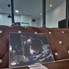 Cinema: MATTHEW DE MERITT FIRMADO 8 X 10 FOTO E.T. ET DEMERITT TERRESTRE CERVEZA BUENA JSA. Lote 265821204