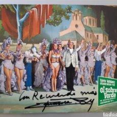 Cine: AUTÓGRAFO ORIGINAL DE ESPERANZA ROY. AÑOS 1971. ROGAMOS LEER BIEN LA DESCRIPCIÓN ANTES DE PUJAR.. Lote 276278933