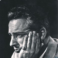 Cinema: X50 - CINE CINEMA / ROSSANO BRAZZI ACTOR ITALIANO - FOTO AUTOGRAFIADA ORIGINAL 15X10CM 1950'. Lote 283307693