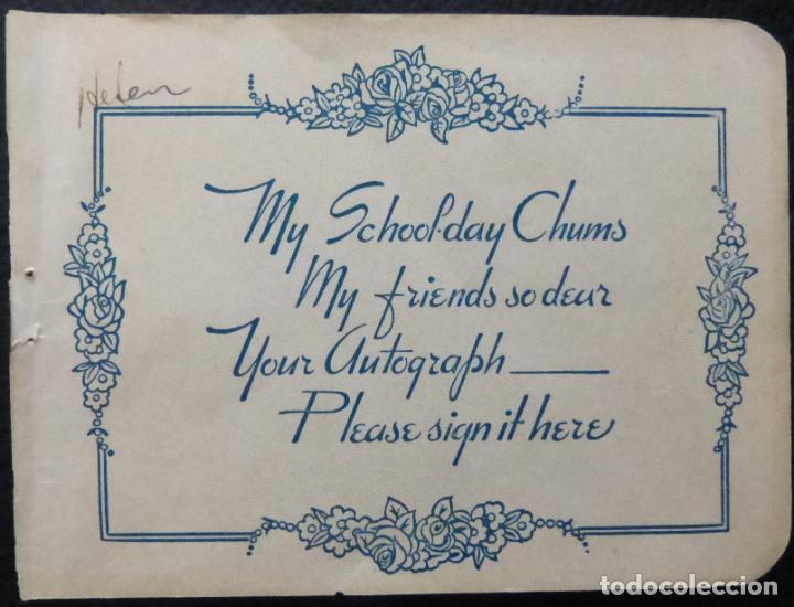 Cine: Autografo de Louis Prima firmado 5-1 / 2 x 5 página de álbum de corte 1945. - Foto 7 - 287859123