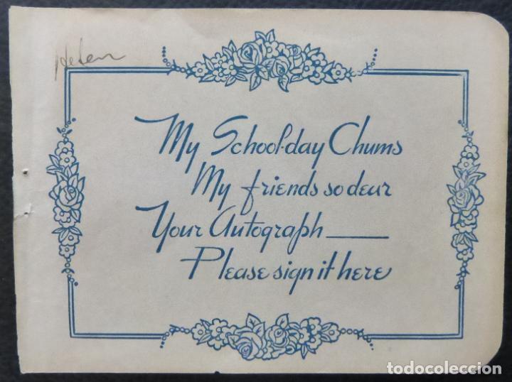 Cine: Autografo de Louis Prima firmado 5-1 / 2 x 5 página de álbum de corte 1945. - Foto 8 - 287859123