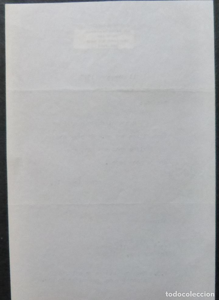 Cine: Autografo en Carta firmada de Dore Schary, 11 de noviembre de 1970, al Sr. Edwin Knopf - Foto 6 - 287954168